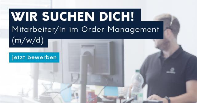 Mitarbeiter Order Management